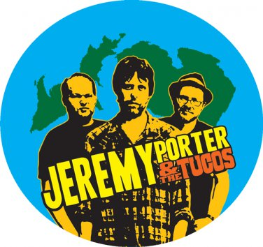 JP & The Tucos - Sticker - Band Illustration & Logo