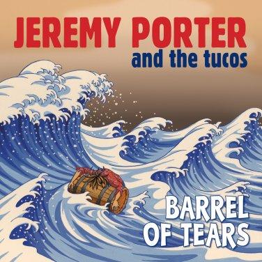 "JP & The Tucos - Barrel Of Tears b/w Blue Letter 7"" Vinyl (2016)"