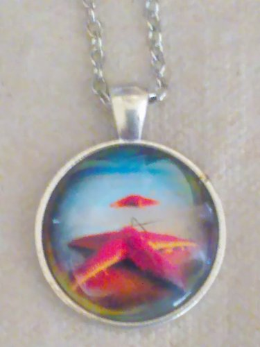 Necklace Photo Pendant with Chain