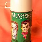 VINTAGE MUNSTERS THERMOS FOR LUNCH BOX HERMAN MUNSTER THERMOS ONLY