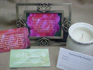 Acts Of Kindness Prayer Gift Set - Sharon (Lg.)