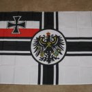 Imperial Germany Flag 3x5 WWI German Jack Iron Cross
