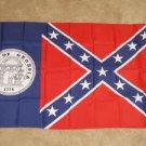 Confederate Georgia State Flag 3x5 feet GA Rebel new