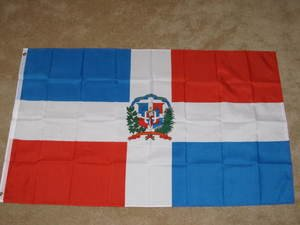 Dominican Republic Flag 3x5 feet the DR banner sign new