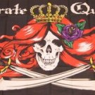 Pirate Queen Flag 3x5 feet Skull Cross Swords banner