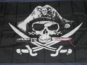 Dead Man's Chest Pirate Flag 3x5 feet Skull Jolly Roger