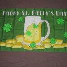 Happy St Patty's Day Flag 3x5 feet Saint Patrick's Irish Ireland Banner new