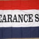 Clearance Sale Flag 3x5 feet everything must go new on