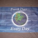 Earth Day Every Day Flag 3x5 feet World Peace Ecology Environment banner sign
