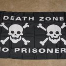 Death Zone No Prisoners Pirate Flag 3x5 feet banner