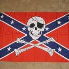 Rebel Pirate Flag 3x5 feet Confederate Jolly Roger new
