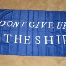 Don't Give Up the Ship Flag 3x5 feet Commodore Perry