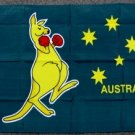 Boxing Kangaroo Flag 2x3 feet new Australia Day banner Australian