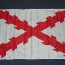 Spanish Ensign Flag 3x5 feet Burgundy Cross Spain Royal Historical new