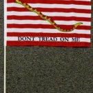 First Naval Jack Stick Flag 12x18 inches 1st Navy Don't Tread on Me banner snake