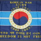Korean War Memorial Flag 3x5 feet Veterans Vet banner