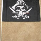 Dead Man's Chest Flag 12x18 inches Pirate banner wooden stick jolly roger new