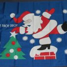 Santa Claus Flag 3x5 feet Merry Christmas banner ho xmas tree holiday season new