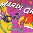 Mardi Gras Flag 3x5 feet Party New Orleans banner new