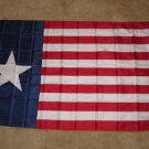 Texas Navy Flag 3x5 feet Texan Revolution 1838-1846 Naval Jack