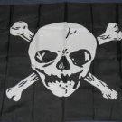 Big Skull Pirate Flag 3x5 feet Jolly Roger banner