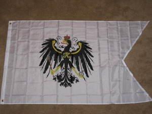 Prussian Flag 3x5 feet Kingdom of Prussia banner War Ensign Germany German new