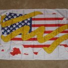 Yellow Ribbon Flag 3x5 feet USA US American Support Our Troops Welcome Home