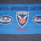 11th Airborne Flag 3x5 feet eleventh division army banner