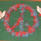 Peace & Love Flag 3x5 feet White Dove sign symbol new