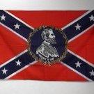 Robert E Lee Confederate Flag 3x5 feet rebel banner Civil War South Southern