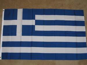 Greece Flag 3x5 feet Greek Isles banner sign new