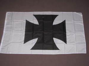 Maltese Cross Flag 3x5 feet Iron German Germany banner