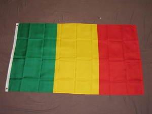 Mali Flag 3x5 feet Malian Timbuktu Africa African new
