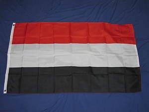 Yemen Flag 3x5 feet country banner new