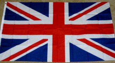 British Flag 3x5 United Kingdom Union Jack Britain UK