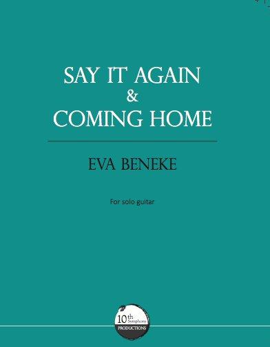 """Score """"COMING HOME"""" PDF"""