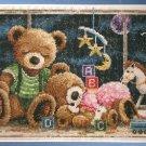 **Goodnight Teddy Bears Cross Stitch KIT Janlynn 2003
