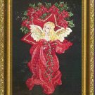 **Christmas Angel Cross Stitch Pattern Kustom Krafts 2002