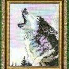 **HOWLING WOLF CROSS STITCH PATTERN - KUSTOM KRAFTS 2003