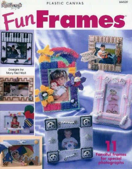** 11 * Fun Frames in Plastic Canvas PIANO Rainbow BABY
