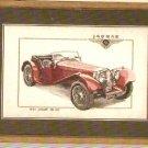Heritage Classics 1937 Jaquar SS100 Cross Stitch KIT