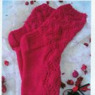 **KNIT HeartStrings MODERN ROMANCE Socks Women's Sz Medium