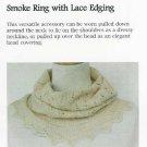 **KNIT HeartStrings Lacy SMOKE RING Pattern