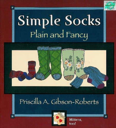 **Knit Pattern for Simple Socks & Mittens - PLAIN & FANCY