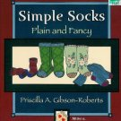 **Knit Pattern for Simple Socks & Mittens - PLAIN & FANCY