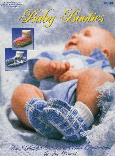 **Crochet BABY Booties * 9 * Pair