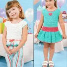 **Crochet Pattern SUMMER SWEETIES Wardrobe for Little Girls