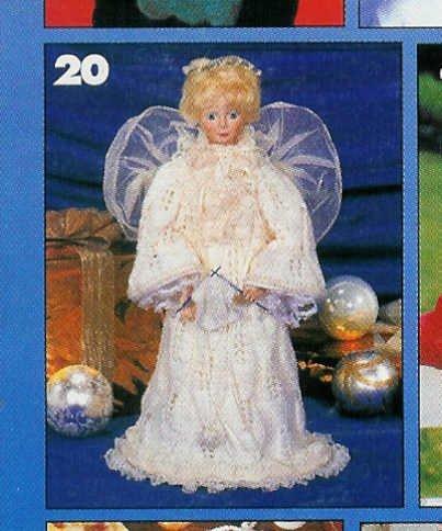 **Lacy Knit ANGEL Pattern FISHERMAN'S Sweater McBunny & BEAR *