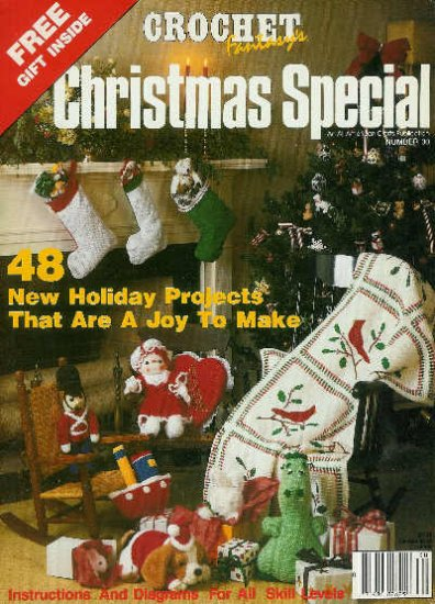 Crochet Fantasy CHRISTMAS SPECIAL * 48 * PROJECTS Christmas Afghan