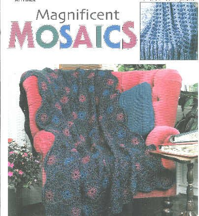 Magnificent Mosaics Afghan Patterns by Anne Halliday*